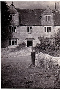 Barton 5. Barber Breadstone House frontage 1950s nb tree LH