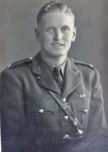 2nd Lieutenant Michael Anthony Phelps , Royal Signals Regiment, Served in North Africa from February 1943 in the desert. Caught Polio in June 1944 in Egypt. Sent home on a hospital ship. walked his wartime sweetheart down the aisle on their wedding day in July 1945