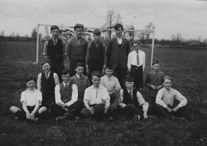 Wilf Bailey c 1930's3rd lh front row