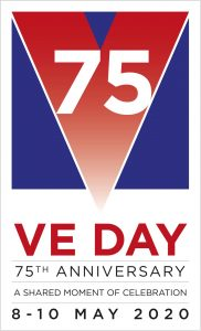 VE day 75th anniversay poster