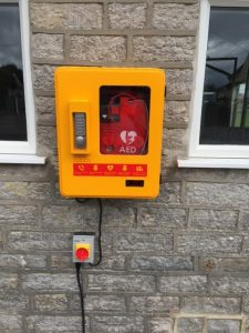 Picture of defibrillator